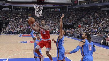 NBA Wk 8: Thunder 93-94 Kings