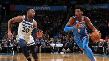 NBA Wk7: Timberwolves 127-139 Thunder (OT)
