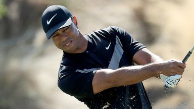 Mixed round for Tiger Woods