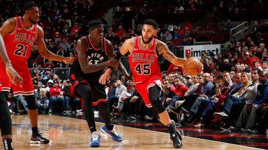 NBA Wk8: Raptors 93-92 Bulls