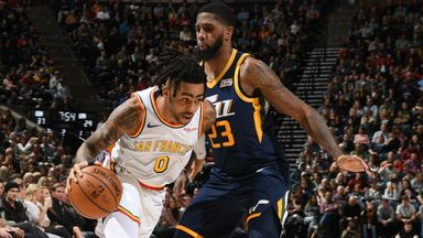 NBA Wk8: Warriors 106-114 Jazz