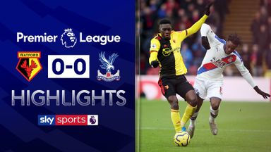 Watford held by Palace in stalemate