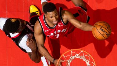 NBA Wk7: Rockets 119-109 Raptors