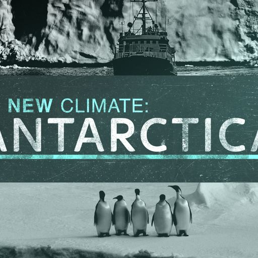 Sky News travels to the Antarctic to see the effects of climate change