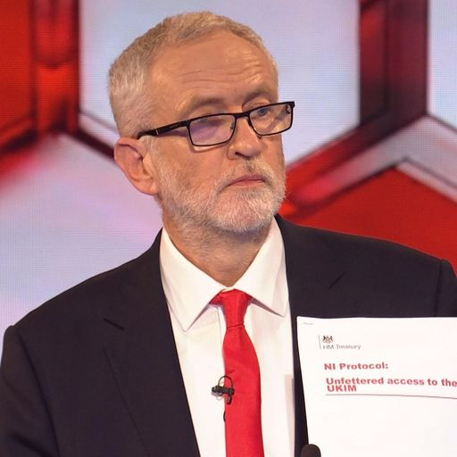 General election: Jeremy Corbyn bats away 'Russian links' to his leaked NHS documents