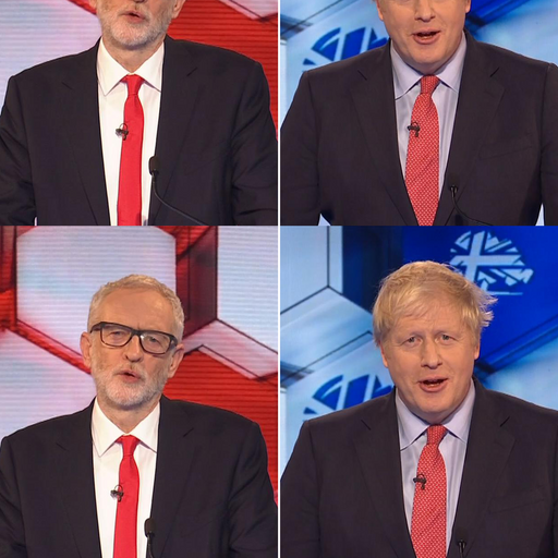 Boris Johnson comes out ahead of Jeremy Corbyn in final debate - snap poll