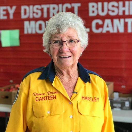 Meet the woman who has fed Australian firefighters for over 50 yearst