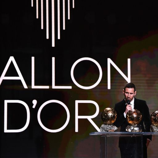 Lionel Messi moves ahead of Ronaldo with record sixth Ballon d'Or award