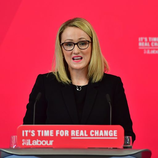 Rebecca Long-Bailey 'considering' standing for Labour leadership