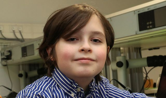 Child prodigy, 9, quits university in row over graduation date