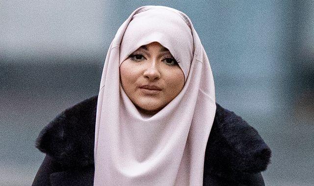 Former beauty queen and ex-girlfriend of Liverpool footballer convicted of funding terrorism