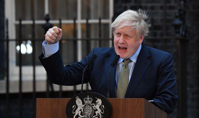 General election: Victorious Boris Johnson tells Nicola Sturgeon 'no IndyRef2' after historic win