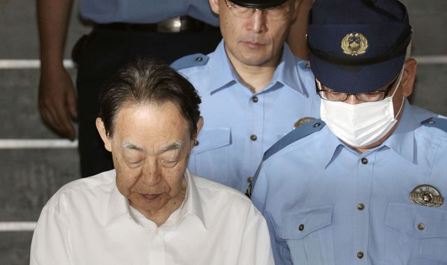 Japanese man is jailed for killing violent, reclusive son with kitchen knife