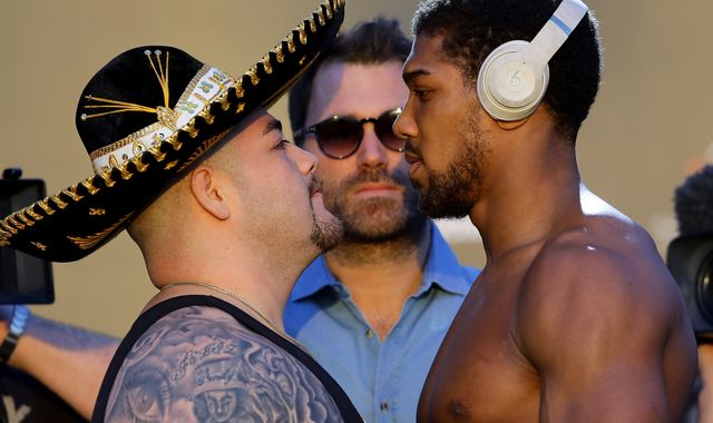 Anthony Joshua: British boxer prepares to fight Andy Ruiz Jr in rematch