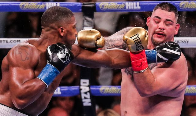 Anthony Joshua learned from his mistakes - and delivered a boxing masterclass