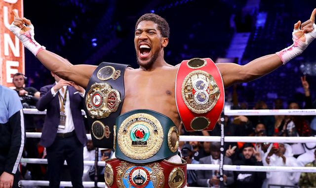 Anthony Joshua: British boxer beats Andy Ruiz Jr to reclaim world heavyweight titles