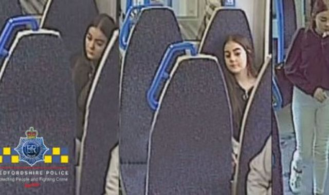 CCTV images show Atlanta Butler, 13, boarding London-bound train before disappearance