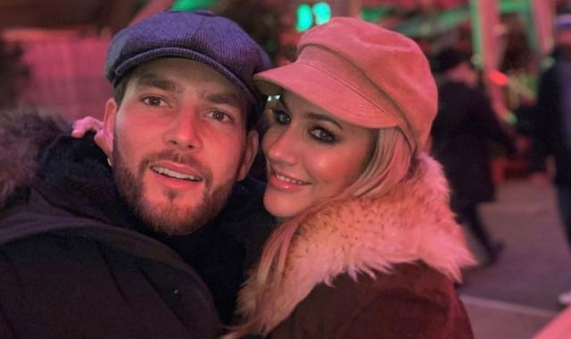 Caroline Flack's boyfriend shares loved-up picture following Love Island host's assault charge