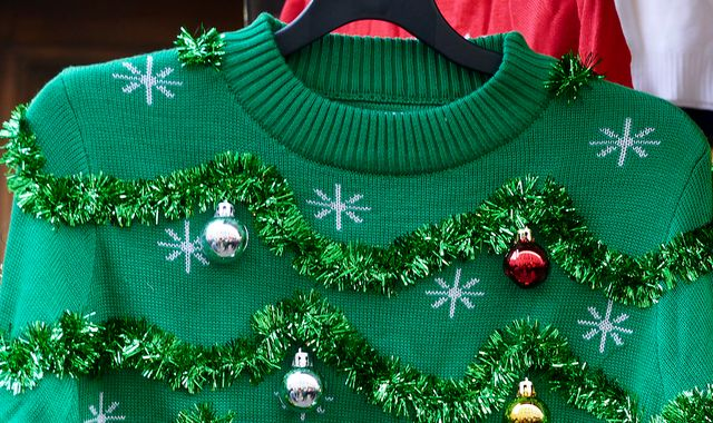 Christmas jumper craze 'bad for the environment', warns charity
