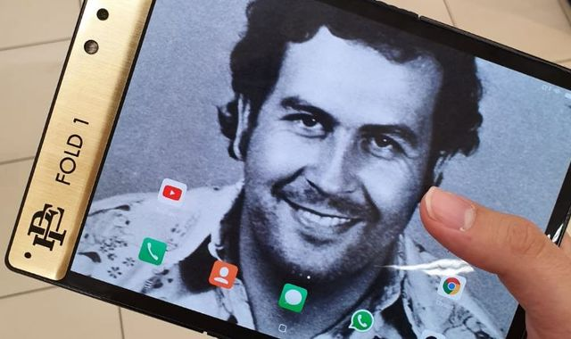 Pablo Escobar's brother launches 'unbreakable' gold smartphone - and vows to sue Apple