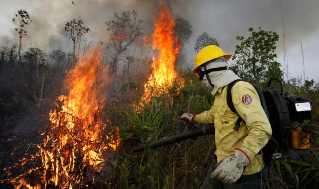 Top Brazil official: Nations should not 'point fingers' at us over Amazon fires