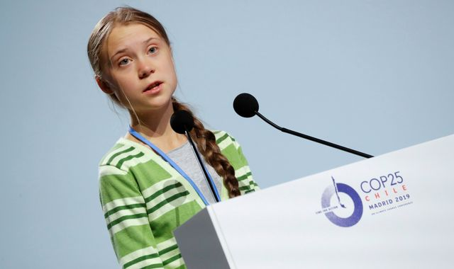 Greta Thunberg accuses world leaders of 'creative PR' at Madrid climate summit