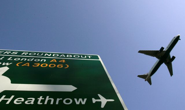 Heathrow pledges to become zero carbon airport but emissions from planes not included