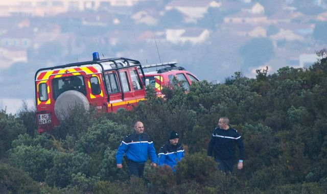 France helicopter crash: Three rescuers killed as storms lash Riviera
