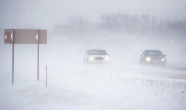 US weather: At least six die as winter storms sweep across country