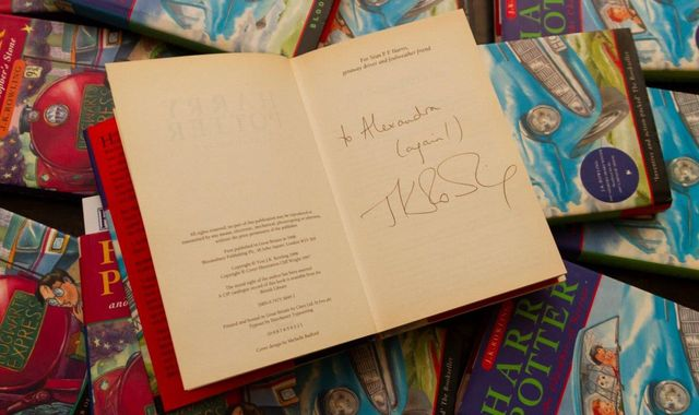 Rare Harry Potter book bought for 1p sells for £2,300 at auction
