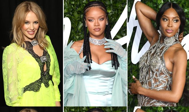 Fashion Awards: Rihanna, Kylie, Julia Roberts - all the best outfits from the London show