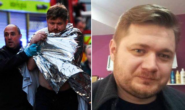 London Bridge: 'Hero' kitchen porter who fought attacker pictured