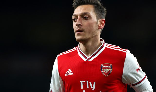 Arsenal distances itself from Mesut Ozil post criticising China's treatment of Uighur Muslims