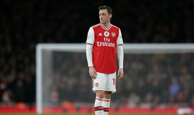 Chinese TV pulls coverage of Arsenal match after Mesut Ozil remarks