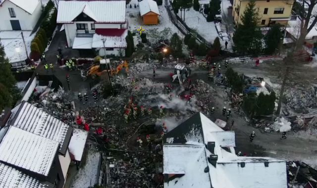 Poland: Four children among eight dead after explosion at ski resort