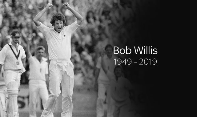 Bob Willis, ex-England captain and Sky Sports Cricket expert, dies aged 70