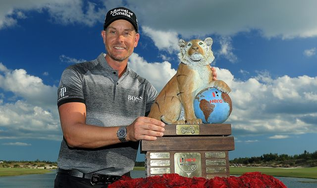 Hero World Challenge: Henrik Stenson edges out Jon Rahm as Tiger Woods fades