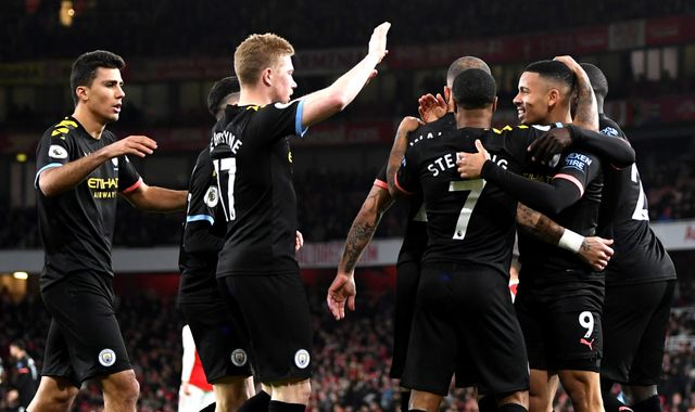 Arsenal-Manchester City: Player ratings
