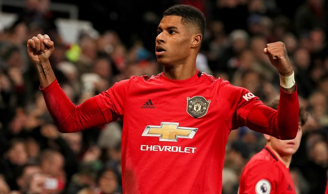 Marcus Rashford: Manchester United forward making progress after back injury