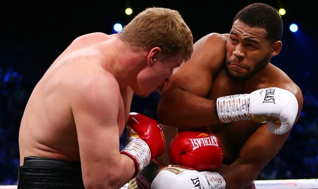Ruiz Jr vs Joshua 2: Michael Hunter and Alexander Povetkin battle to a draw after 12 hard-fought rounds