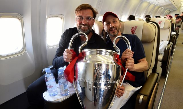 Mike Gordon, Liverpool's managing owner, on plane that skidded off runway