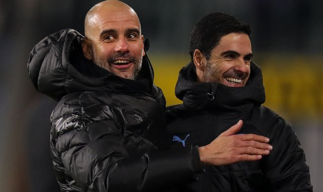 Mikel Arteta: Pep Guardiola says no approaches for Man City coach