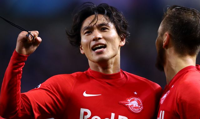 Ralf Rangnick says Takumi Minamino is in Jurgen Klopp's mould, as Liverpool eye midfielder