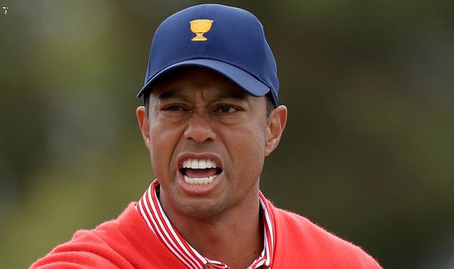 Tiger Woods wins Presidents Cup opener but Team USA 4-1 behind