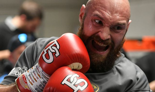 Tyson Fury: Risky strategy to split with trainer Ben Davison in favour of Javan 'Sugar' Hill