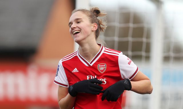 Vivianne Miedema crowned FWA Women's Footballer of the Year