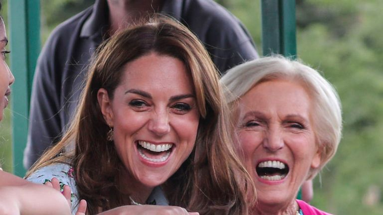 REVIEW OF THE DECADE - ROYAL File photo dated 10/09/19 of the Duchess Of Cambridge riding on a tractor and trailer with Mary Berry, during a visit to the 'Back To Nature' Festival at RHS Garden Wisley, in Woking, Surrey.