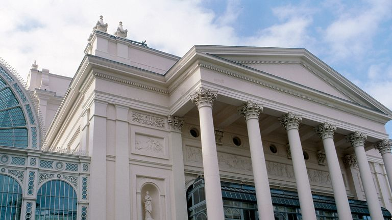 Exterior of Royal Opera House Covent Garden, London, United Kingdom. (Photo by Daniel Thistlethwaite/Construction Photography/Avalon/Getty Images)