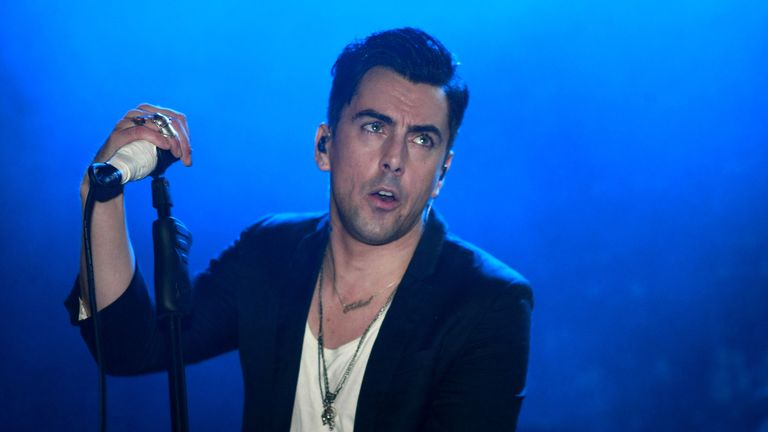 Ian Watkins of Lostprophets performs at Shepherds Bush Empire on August 25, 2010 in London, England.