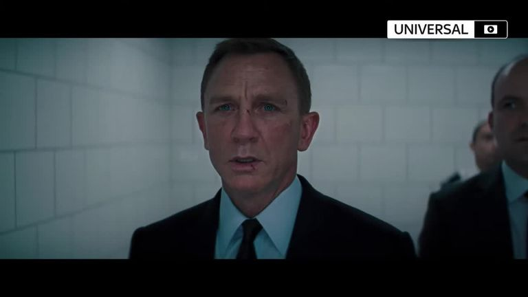 The new James Bond trailer has been released with Daniel Craig reprising his roll as the British super spy.